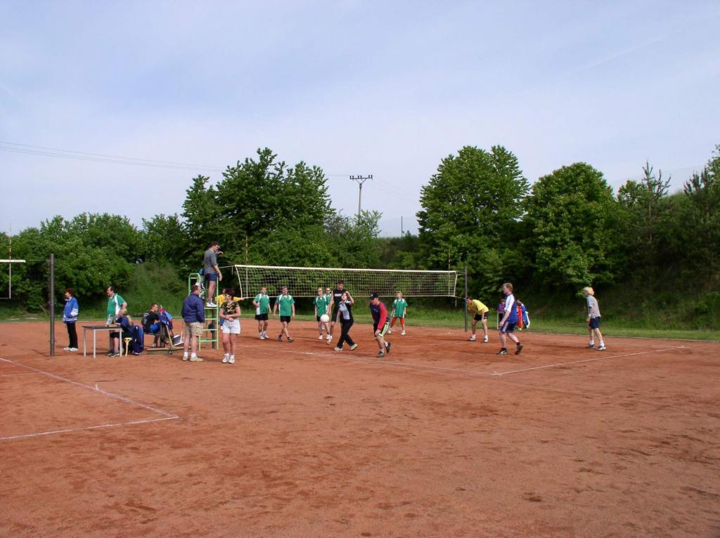 Volejbalový turnaj 2003
