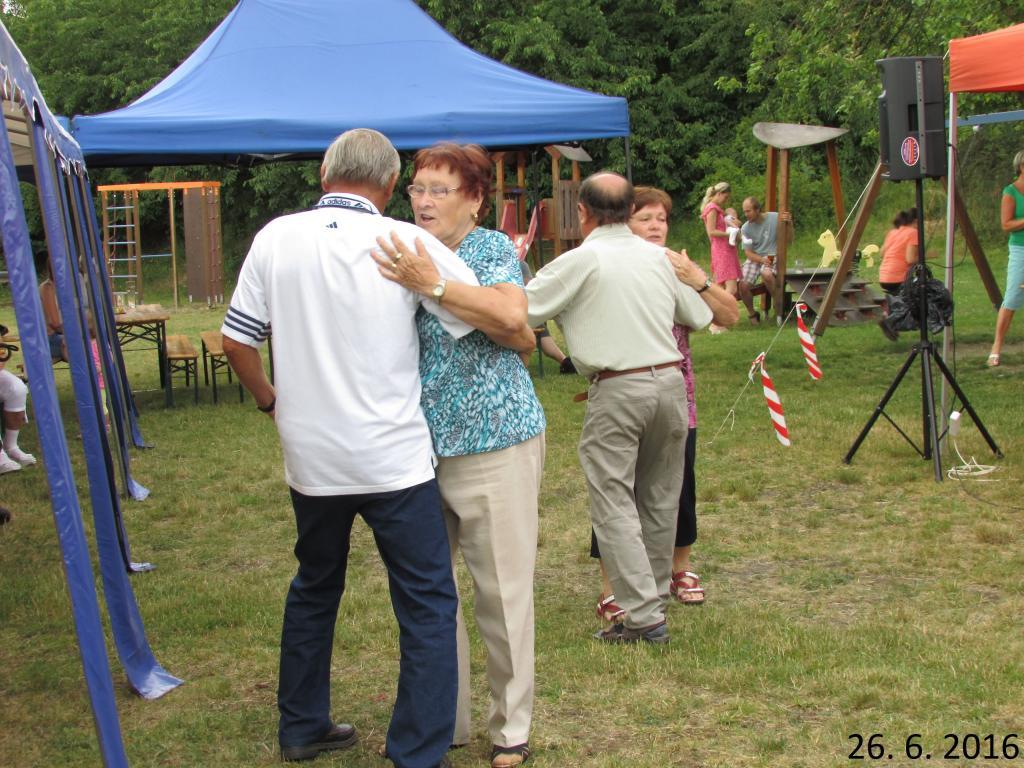 Kiosek 26.6.2016 - Šohaji, slovácká dechovka