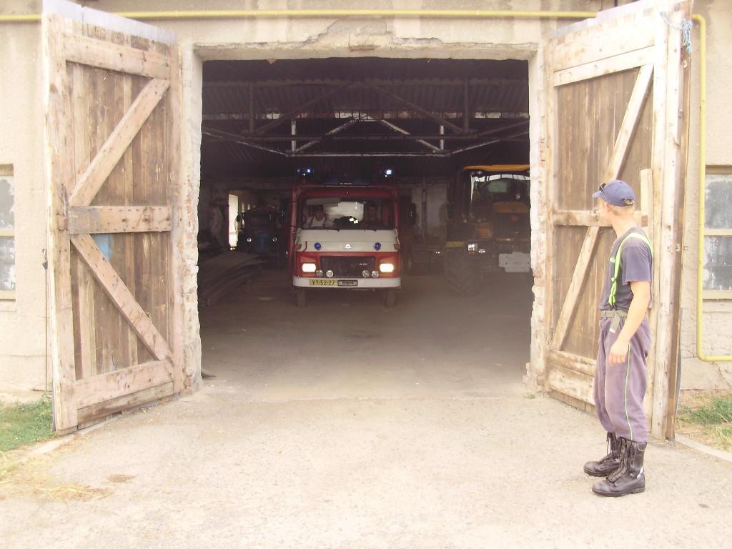 Ochlazování střechy JZD