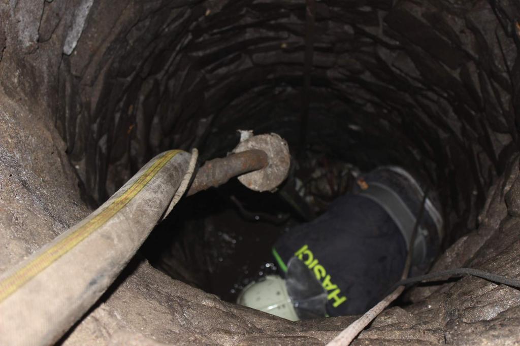 Čištění studny